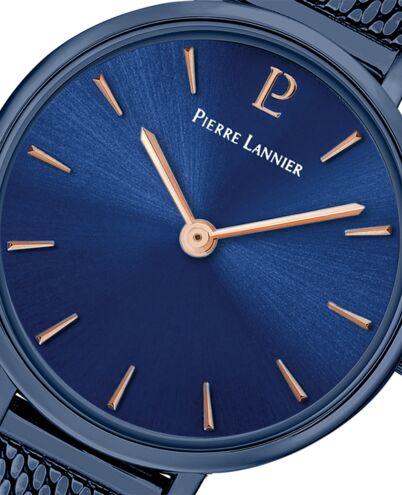 Montre Femme NOVA Cadran Bleu Bracelet Acier Bleu