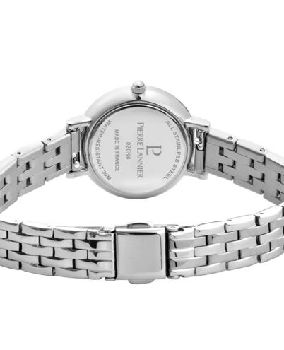 Ladies Watch NOVA Silver Dial Silver Steel Strap