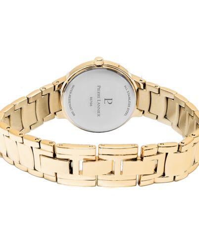 Montre Femme JOY Cadran Argenté Bracelet Acier Doré