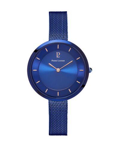 Quartz Ladies Watch LIBERTY Blue Dial Blue Mesh steel Strap