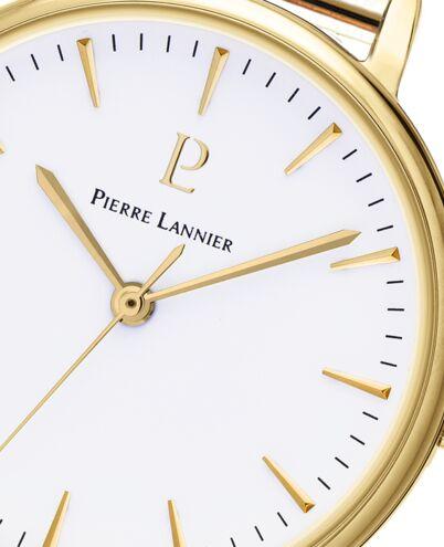 Montre Femme SYMPHONY Cadran Blanc Bracelet Acier Doré