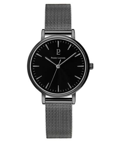 Montre Femme SYMPHONY Cadran Noir Bracelet Acier Noir