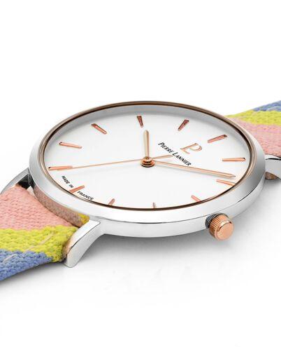 Quartz Ladies Watch CATALANE White Dial Rose Gold colour Strap