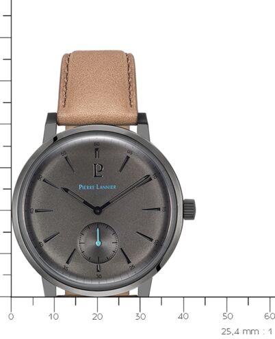 Quartz Men's Watch DUNE Grey Dial Sand Leather Strap