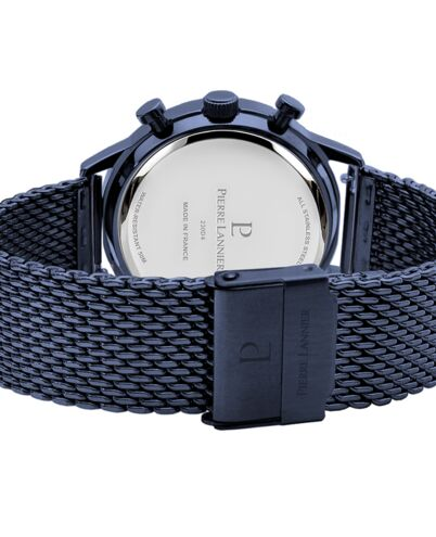 Montre Homme CAPITAL Cadran Bleu Bracelet Acier milanais Bleu
