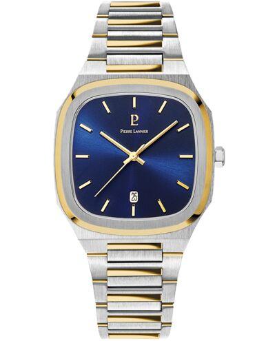Quartz Men's Watch CONTRASTE Blue Dial Steel Strap