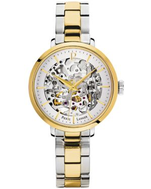 Automatic Ladies Watch AUTOMATIC Silver Dial Bicolored Steel Strap