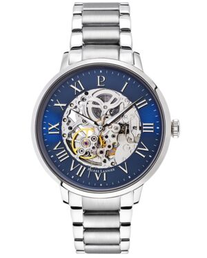AUTOMATIC Men's Watch AUTOMATIC Blue Dial Silver Steel Strap