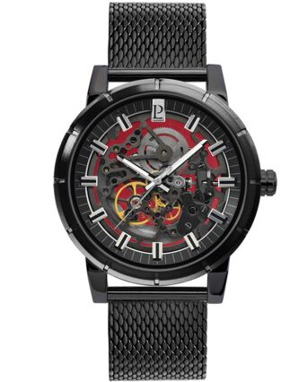 AUTOMATIC Men's Watch AUTOMATIC Black Dial Black Strap