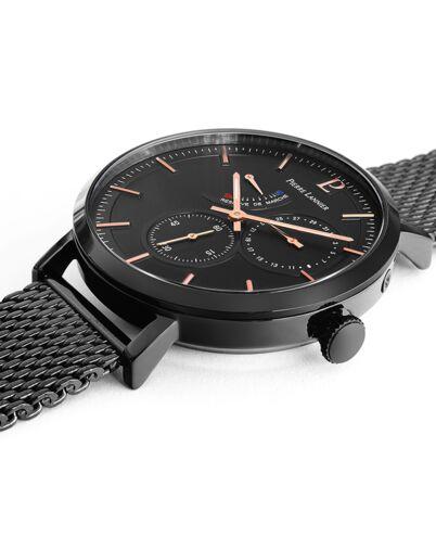 Automatic Men's Watch AUTOMATIC Black Dial Black Mesh steel Strap