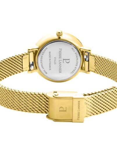 Coffret Femme NOVA Cadran Doré Bracelet Acier Milanais Doré
