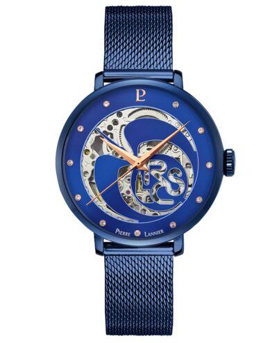 Montre Femme RCS Cadran Bleu Bracelet Acier Milanais Bleu