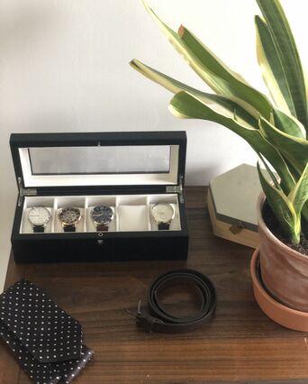 Coffret rangement boite à montres