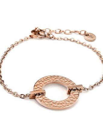 Bracelet Femme CAPRICE Doré Rose