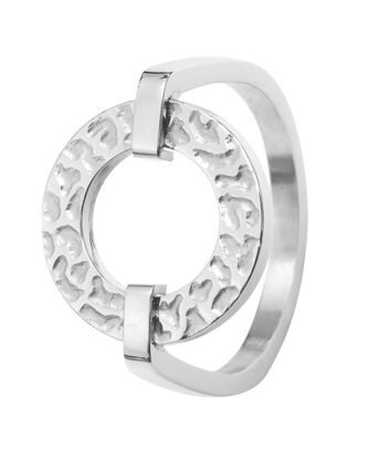 Ring CAPRICE steel silver 56mm