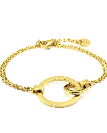 Bracelet SEDUCTION steel gold