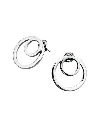 Earrings SEDUCTION steel silver