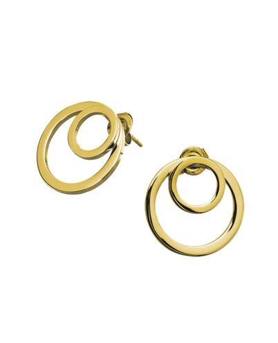 Earrings SEDUCTION steel gold