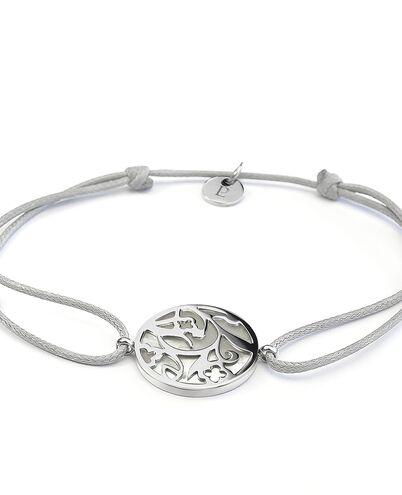 Bracelet EOLIA steel silver gun