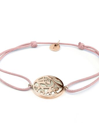 Bracelet Femme EOLIA Doré Rose