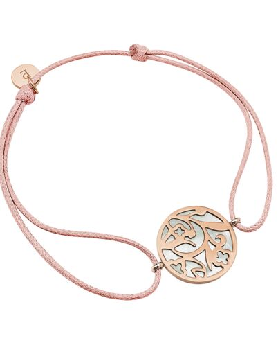 Bracelet EOLIA steel rose gold