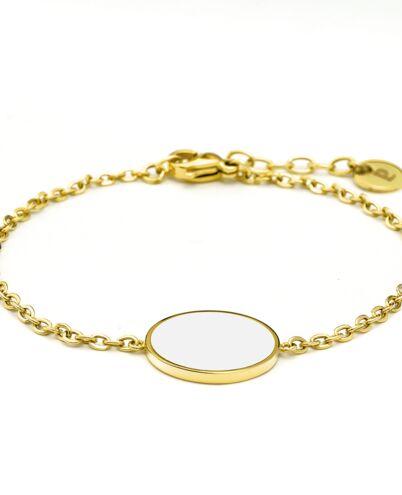 Bracelet Femme SYMPHONY Doré Blanc