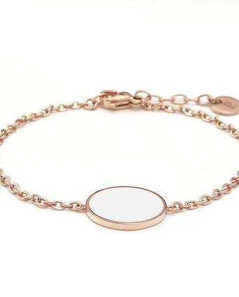 Bracelet Femme SYMPHONY Doré Rose Blanc