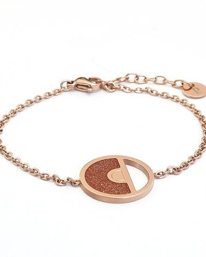 Bracelet Femme CRISTAL Doré Rose
