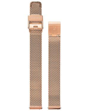 Bracelet Acier Milanais Doré Rose 12 mm