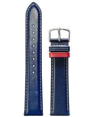 Blue Leather MEN 20MM Strap